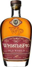 Whistlepig Old World Cask Finish 12 Year Old Straight Rye Whiskey 75CL