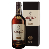 Ron Abuelo 12 Year Old Rum 70CL