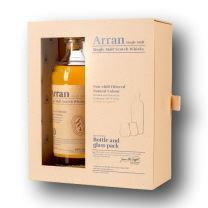 Arran 10 Year Old Single Malt Scotch Whisky Gift Pack 70CL