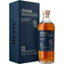 Arran 21 Year Single Malt Scotch Whisky 70cl