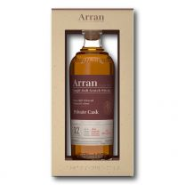 Arran UK Exclusive Limited Edition Private Cask Single Malt Whisky 60% 70CL
