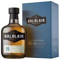 Balblair 15 Year Old Single Malt Whisky 46% 70CL