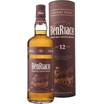 The Benriach 12 Year Old Sherry Wood Finish Whisky 70CL
