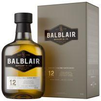 Balblair 12 Year Old Single Malt Whisky 46% 70CL