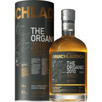 Bruichladdich Organic Barley 2010 Unpeated Islay Single Malt Whisky 70CL