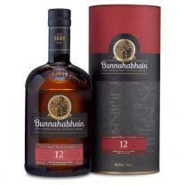 Bunnahabhain 12 Year Old Islay single Malt Whisky 70cl