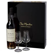 Clos Martin 30 Year Old Single Terroir Bas Armagnac Glass Set 50CL