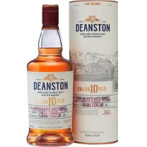 Deanston 10 Year Old Bordeaux Red Wine Cask Finish Single Malt Whisky 70CL