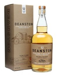 Deanston 12 Year Old  Unchillfiltered Scotch Whisky 70CL
