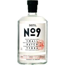 Distil No9 Small Batch Ukrainian Premium Vodka 70CL