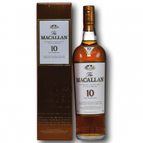 The Macallan 10 Year Old Highland Single Malt Scotch Whisky 70CL
