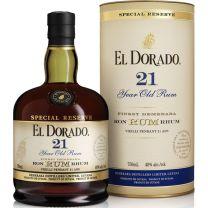 El Dorado 21 Year Old Special Reserve Rum 70CL