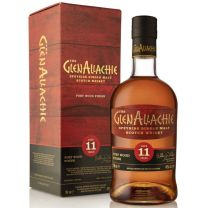 GlenAllachie 11 Year Old Port Wood Finish Speyside Single Malt Whisky 70CL
