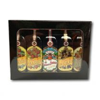 Gabriel Boudier Dijon Tasting Collection - 5 x 4cl Miniature Liqueurs Gift Set