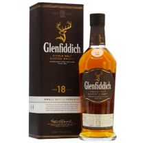 Glenfiddich 18 year old Single Malt Whisky 70CL