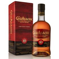 GlenAllachie 10 Year Old Port Wood Finish Speyside Single Malt 48% 70CL