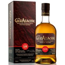 GlenAllachie 18 Year old Speyside Single Malt Whisky 46% 70CL