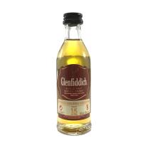 Glenfiddich 15 Year Single Malt Miniature 5CL