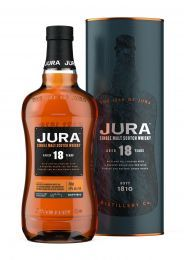 Jura 18 Year Old Single Malt Whisky 70CL