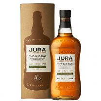 13 Year Old Isle of Jura Two-One-Two Single Malt Whisky 70CL