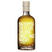 Mackmyra 10 Year Old Swedish Single Malt 70CL