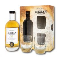 Mezan Jamaica XO Rum Glass Pack Gift Set 70CL