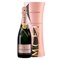 Moet Rose Champagne Gift Set 75CL