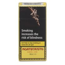 Montecristo Mini Cigarillos Pack of 10