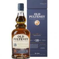 Old Pulteney 18 Year Old Single Malt Whisky 70cl