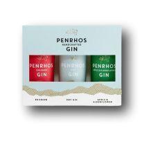 Penrhos Gin Trio Tasting Collection Miniature Gift Set
