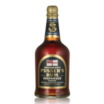 Pusser's Gunpowder Proof  British Navy Rum 54.5% 70CL