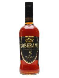 SOBERANO 5 BRANDY 70CL