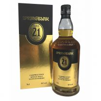Springbank 21 Year Old Single Malt Scotch 2019 Release 70CL