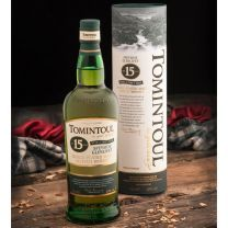 "Tomintoul 15 Year Old ""With a Peaty Tang"" Single Malt Scotch 70CL"