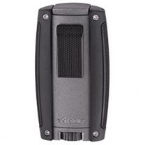 Xikar Turismo Double Jet Lighter - Gray